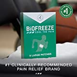 Biofreeze Pain Relief Patch, Large, 5 Patches