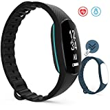 Fitness Tracker, Marsno Mo1 Activity Tracker with Heart Rate Monitor Blood Pressure Monitor : Fitness Watch Smart Band with Sleep Monitor, Smart Bracelet Pedometer Wristband for iOS & Android