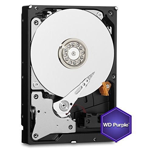 WD Purple 1TB Surveillance Hard Disk Drive - 5400 RPM Class SATA 6 Gb/s 64MB Cache 3.5 Inch - WD10PURX [Old Version] (Certified Refurbished) by Western Digital (Image #3)
