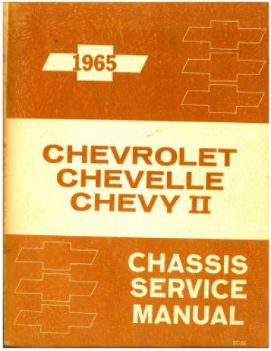 Cable Chevelle - 1965 Chevrolet, Chevelle, Chevy II Chassis Service Manual