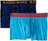 Bjorn Borg Men's 2-Pack Animal Madness Trunk, Peacoat, X-Large