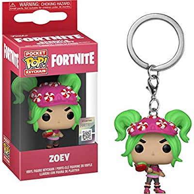 Funko Pop! Keychain: Fortnite - Zoey Toy, Multicolor: Toys & Games