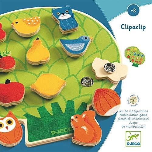 DJECO Clipaclip Wooden Activity Toy