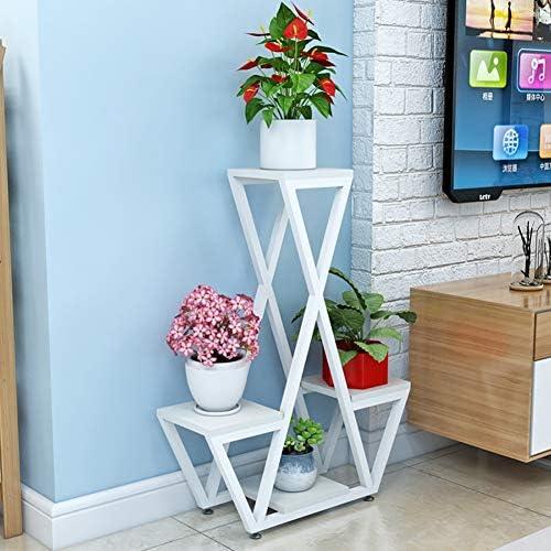 F/üR Indoor Outdoor Moderne Home Decor Pflanzenstandplatz,A,40x20x78CM Mehrschichtige Eisen Metall Blume Topf Rack Display Regal