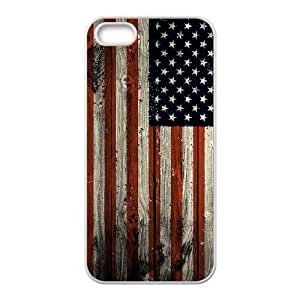 American Flag Classic Personalized Phone Case for Iphone 5,5S,custom cover case ygtg-775018 by mcsharks