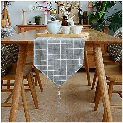 Caminos de mesa Elegante Mesa de decoración de Borla del Corredor ...