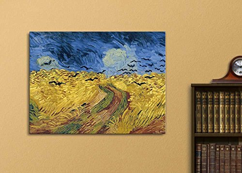 Wheatfield with Crows by Vincent Van Gogh Oil Painting Reproduction