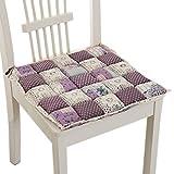 Perfect Soft Home/Office Chair Cushion Tatami Seat Saddle Chair Pad Purple
