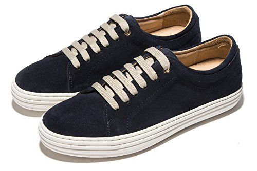 Opp Unisex Suede Leather Sneaker Sport Shoes Blue VTdPiXccMf