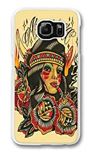 Art 9 Polycarbonate Hard Case Cover for Samsung S6/Samsung Galaxy S6 Transparent