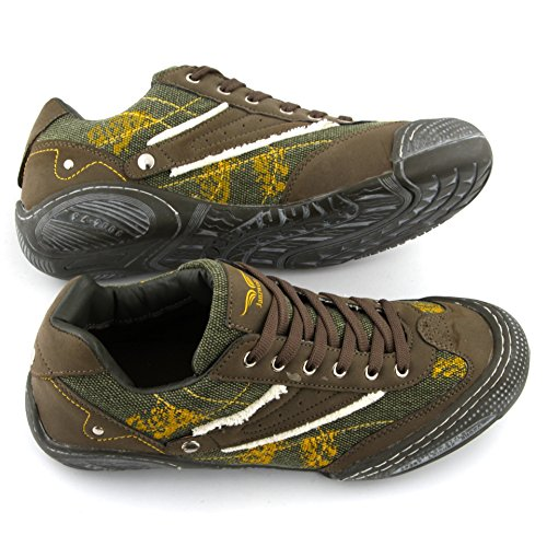 42 ZW395 Aller 45 Olive Chaussures CTZ Sport Chaussures 44 JanZWell 41 Sneakers de Homme 43 Taille Vert Tout Chaussures YOqxCUBCw