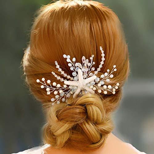 Starfish Hair Comb Beach Wedding Beach Hair Accessory Hair Clip