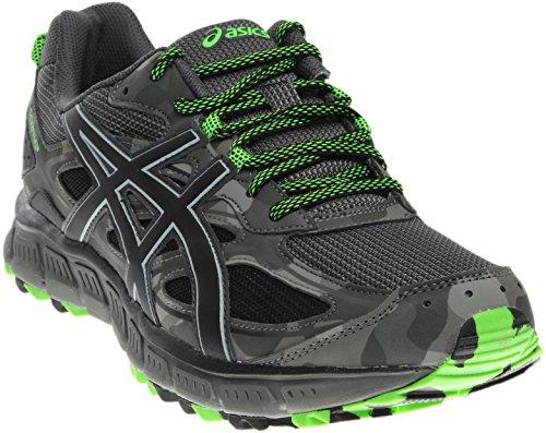ASICS Men's Gel-Scram 3 Running Shoe, Black/Black/Glacier Grey, 12 Medium US