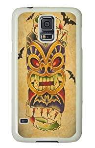 Rosesea Custom Personalized Creepy PC Case Cover for Samsung S5 and Samsung Galaxy S5 wangjiang maoyi