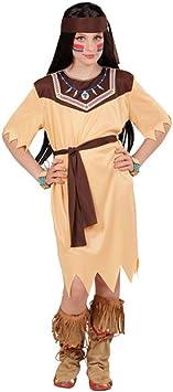 NET TOYS Vestido Infantil India - 111 - 116 cm, 4 - 5 años | Disfraz ...