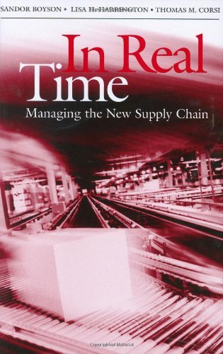 Download In Real Time: Managing the New Supply Chain Pdf