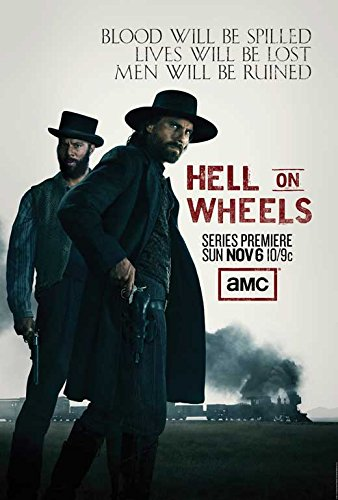 """Hell on Wheels (TV) POSTER (27"""" x 40"""")"""