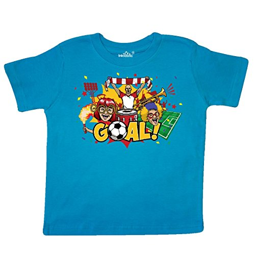 inktastic - Soccer Fan Toddler T-Shirt 2T Turquoise ()