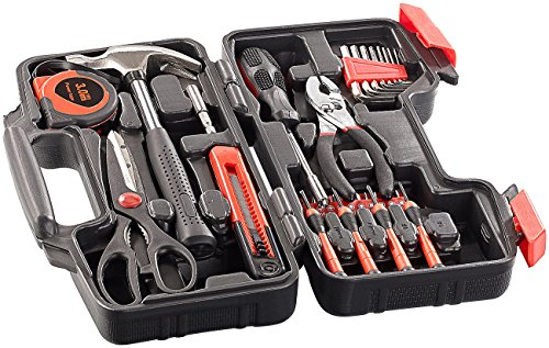 AGT Werkzeugset im Koffer WZK-391, 39-teilig