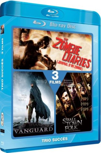 The Zombie Diaries / The Tsunami Warrior / Small Town Folk - 2-Disc Set [ Blu-Ray, Reg.A/B/C Import - France ]