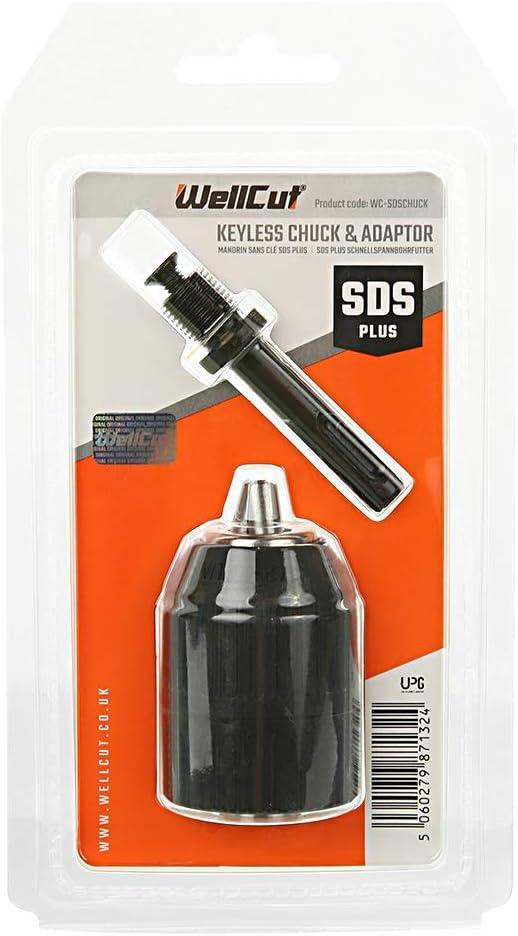 SDS Keyless Drill Chuck Keyless Lathe Drill Chuck Converter for Impact Driver Cordless Drill