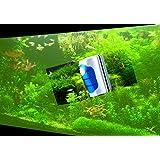 Magnetic Aquarium Fish Tank Glass Algae Glass Cleaner Scrubber Floating Clean Brush-mini