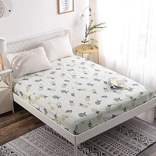 2x Kingsize Mattress Cover Soft Vinyl Plastic Fitted Bed Sheet Protector Protect