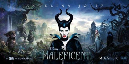 Disney S Maleficent 15 X30 Original Promo Movie Poster Rare Angelina Jolie 2014
