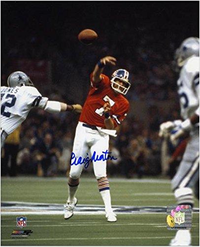 Craig Morton Denver Broncos Autographed 8