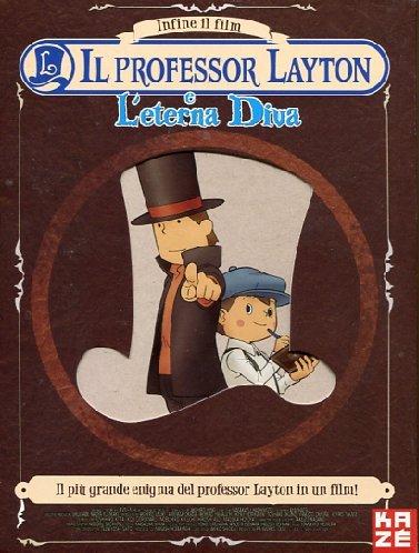 Il Professor Layton E LEterna Diva Ltd CE 2 Dvd+Blu-Ray Italia: Amazon.es: Masakazu Hashimoto: Cine y Series TV