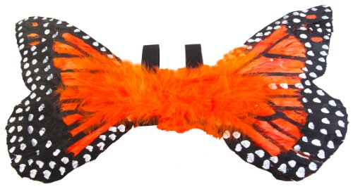 Orange Toddler Monarch Butterfly Costume Wings ()