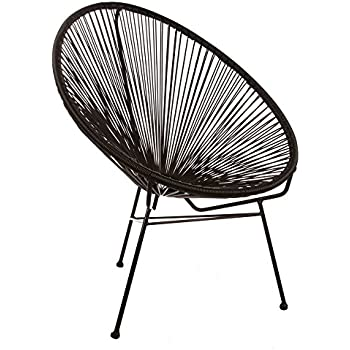 Great Design Tree Home Acapulco Chair, Black