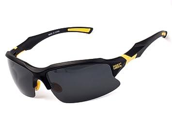 Meetlocks gafas de sol deportivas, lentes polarizadas, marco de la PC de la alta