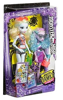 Monster High Monster Family Lagoona Blue & Kelpie Blue Dolls, 2 Pack 6