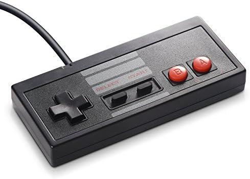 2 Pack Classic USB Controller for NES Gaming, miadore PC USB NES Controller Retro Game Pad Joystick Raspberry Pi Controller for Windows PC Mac Linux RetroPie NES Emulators 51nwN7nm98L