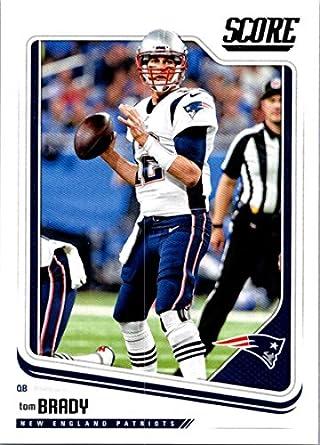 Amazon.com  2018 Score  206 Tom Brady New England Patriots Football ... af0dbf9bb