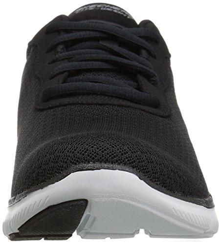 Skechers Frauen Flex Appeal 2.0 Newsmaker Sneaker Schwarz-17