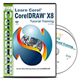 Corel CorelDRAW X8 Tutorial Training on 2 DVDs Over 11 hours in 198 video lessons