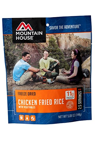 (Mountain House Chicken Fried Rice)