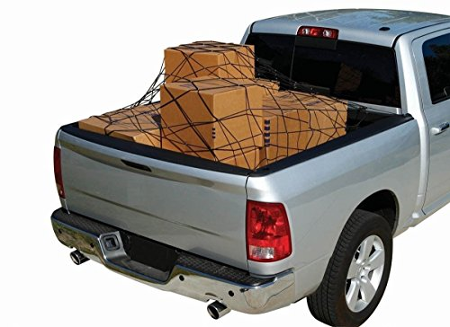Trunk Net Cargo Bed Tie Down Hooks for Truck Pickup Compact Size 60