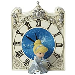 Precious Moments Disney Cinderella Midnight Magic Clock with LED Slipper 173461