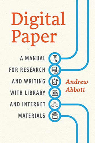 Amazon digital paper a manual for research and writing with digital paper a manual for research and writing with library and internet materials chicago fandeluxe Image collections