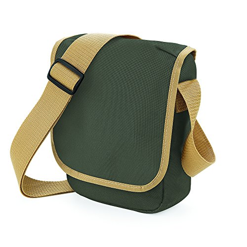 Caramel Reporter Mini Bagbase Green Olive Verde P64SWSq