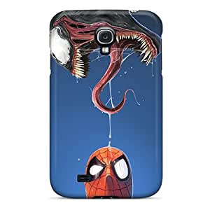 Sanp On Cases Covers Protector For Galaxy S4 (spiderman And Venom)