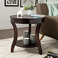 I Love Living Wyatt End Table, Espresso