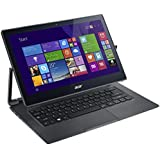 Acer R7-371T-50V5 2-in-1 Convertible Laptop (Intel Core i5-4210U 1.7GHz up to 2.7GHz Turbo Frequency, 8G RAM, 128G SSD, 13.3 Inch IPS 1920 x 1080 TouchScreen, 802.11 AC Wireless, Up to 8 Hours Battery, Backlit Keyboard)