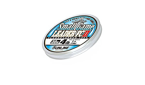 5415 Sunline Fluorocarbon Small Game Leader FC II 30m 6lb