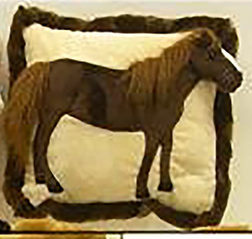Wishpets Stuffed Animal - Soft Plush Toy for Kids - Standing 3d Horse Pillow 13