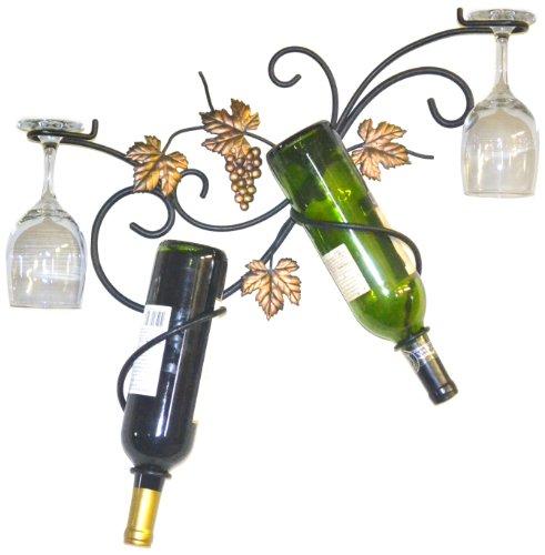 Wrought Iron Wine Glass Holder - 5