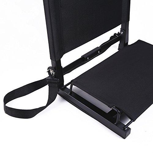 Ohuhu Stadium Seats Bleacher Seat Chairs With Backs And